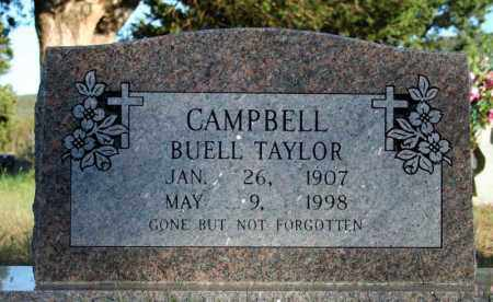 CAMPBELL, BUELL TAYLOR - Searcy County, Arkansas   BUELL TAYLOR CAMPBELL - Arkansas Gravestone Photos