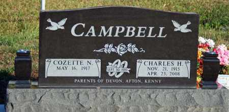 DREWRY CAMPBELL, COZETTE N. - Searcy County, Arkansas | COZETTE N. DREWRY CAMPBELL - Arkansas Gravestone Photos
