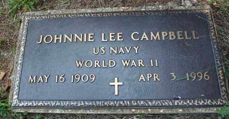 CAMPBELL  (VETERAN WWII), JOHNNIE LEE - Searcy County, Arkansas | JOHNNIE LEE CAMPBELL  (VETERAN WWII) - Arkansas Gravestone Photos