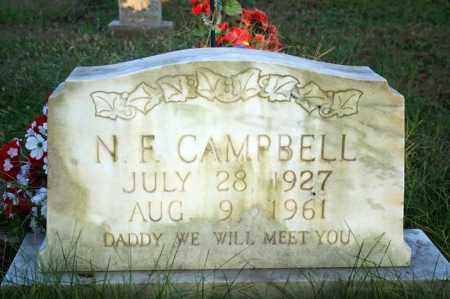 CAMPBELL, N. F. - Searcy County, Arkansas | N. F. CAMPBELL - Arkansas Gravestone Photos
