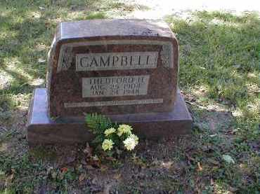 CAMPBELL, THEDFORD - Searcy County, Arkansas | THEDFORD CAMPBELL - Arkansas Gravestone Photos