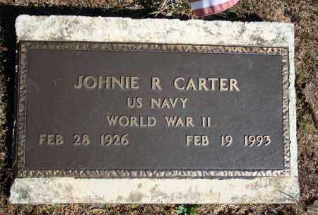 CARTER (VETERAN WWII), JOHNIE R - Searcy County, Arkansas | JOHNIE R CARTER (VETERAN WWII) - Arkansas Gravestone Photos