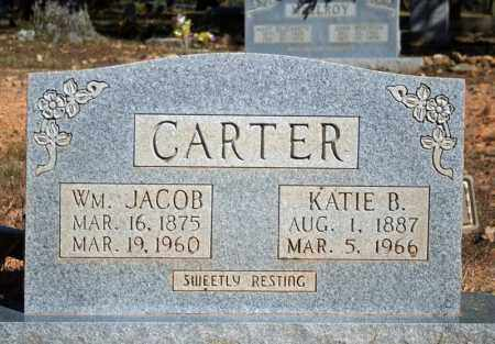 CARTER, WM. JACOB - Searcy County, Arkansas | WM. JACOB CARTER - Arkansas Gravestone Photos