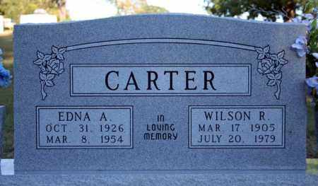 CARTER, WILSON R. - Searcy County, Arkansas   WILSON R. CARTER - Arkansas Gravestone Photos
