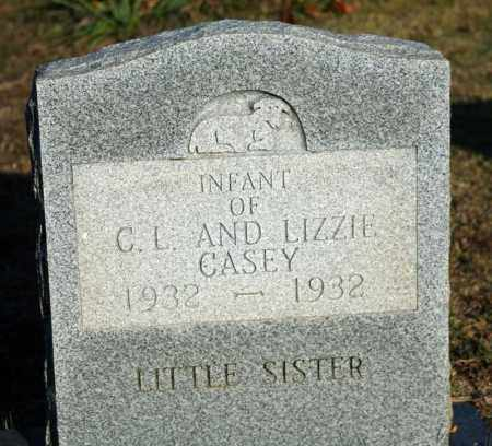 CASEY, INFANT DAUGHTER - Searcy County, Arkansas | INFANT DAUGHTER CASEY - Arkansas Gravestone Photos