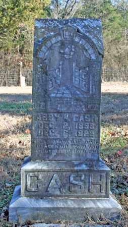 CASH, ABBY V. - Searcy County, Arkansas   ABBY V. CASH - Arkansas Gravestone Photos