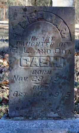 CASH, LEEODAR (INFANT) - Searcy County, Arkansas | LEEODAR (INFANT) CASH - Arkansas Gravestone Photos