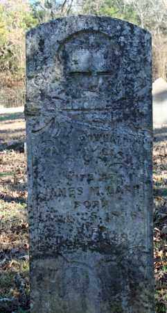 WYATT CASH, MARY POWHATTAN - Searcy County, Arkansas | MARY POWHATTAN WYATT CASH - Arkansas Gravestone Photos