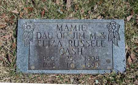 CASH, MAMIE - Searcy County, Arkansas   MAMIE CASH - Arkansas Gravestone Photos