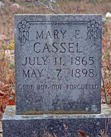 CASSEL, MARY E. - Searcy County, Arkansas   MARY E. CASSEL - Arkansas Gravestone Photos