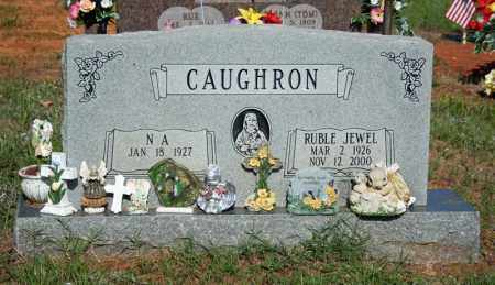 GRINDER CAUGHRON, RUBLE JEWEL - Searcy County, Arkansas | RUBLE JEWEL GRINDER CAUGHRON - Arkansas Gravestone Photos