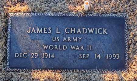 CHADWICK (VETERAN WWII), JAMES LAUTHER - Searcy County, Arkansas | JAMES LAUTHER CHADWICK (VETERAN WWII) - Arkansas Gravestone Photos
