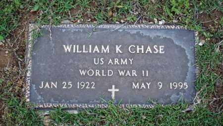 CHASE (VETERAN WWII), WILLIAM K - Searcy County, Arkansas | WILLIAM K CHASE (VETERAN WWII) - Arkansas Gravestone Photos