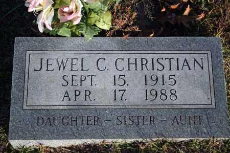 CHRISTIAN, JEWEL CATHRINE - Searcy County, Arkansas | JEWEL CATHRINE CHRISTIAN - Arkansas Gravestone Photos