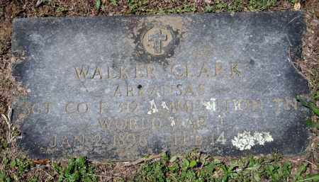 CLARK (VETERAN WWI), WALKER - Searcy County, Arkansas | WALKER CLARK (VETERAN WWI) - Arkansas Gravestone Photos