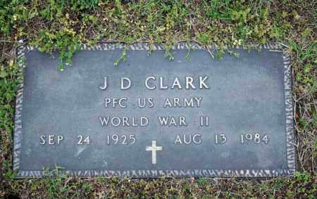 CLARK (VETERAN WWII), J D - Searcy County, Arkansas | J D CLARK (VETERAN WWII) - Arkansas Gravestone Photos
