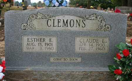 CLEMONS, ESTHER E. - Searcy County, Arkansas | ESTHER E. CLEMONS - Arkansas Gravestone Photos
