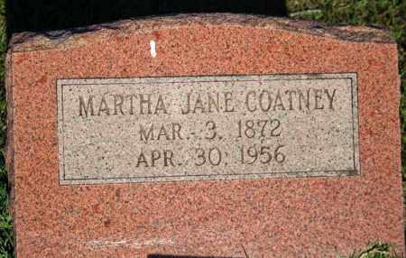 COATNEY, MARTHA JANE - Searcy County, Arkansas | MARTHA JANE COATNEY - Arkansas Gravestone Photos