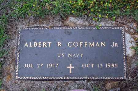 COFFMAN, JR (VETERAN), ALBERT R - Searcy County, Arkansas | ALBERT R COFFMAN, JR (VETERAN) - Arkansas Gravestone Photos