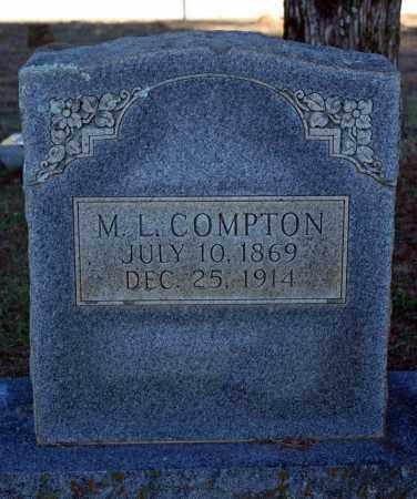 COMPTON, MARTIN L. - Searcy County, Arkansas | MARTIN L. COMPTON - Arkansas Gravestone Photos