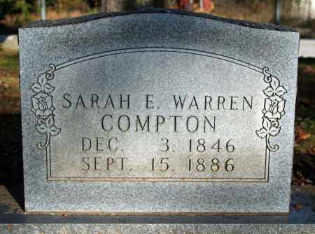 COMPTON, SARAH E. - Searcy County, Arkansas | SARAH E. COMPTON - Arkansas Gravestone Photos