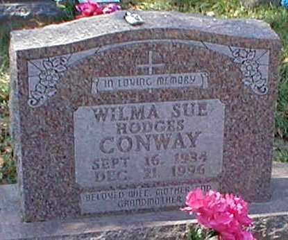CONWAY, WILMA SUE - Searcy County, Arkansas | WILMA SUE CONWAY - Arkansas Gravestone Photos