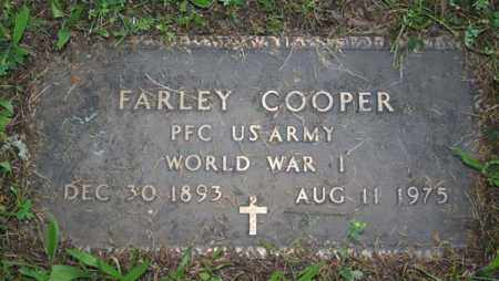 COOPER  (VETERAN WWI), FARLEY - Searcy County, Arkansas | FARLEY COOPER  (VETERAN WWI) - Arkansas Gravestone Photos