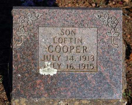 COOPER, LOFTIN - Searcy County, Arkansas   LOFTIN COOPER - Arkansas Gravestone Photos