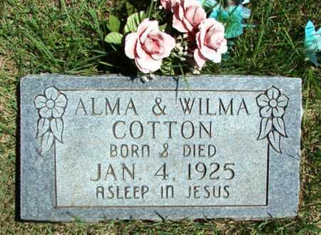 COTTON, WILMA - Searcy County, Arkansas | WILMA COTTON - Arkansas Gravestone Photos