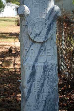 CRIDER, JONATHAN B. - Searcy County, Arkansas   JONATHAN B. CRIDER - Arkansas Gravestone Photos