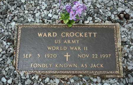 CROCKETT (VETERAN WWII), WARD - Searcy County, Arkansas | WARD CROCKETT (VETERAN WWII) - Arkansas Gravestone Photos