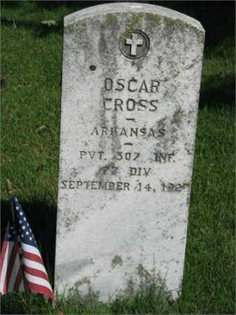 CROSS (VETERAN), OSCAR - Searcy County, Arkansas   OSCAR CROSS (VETERAN) - Arkansas Gravestone Photos