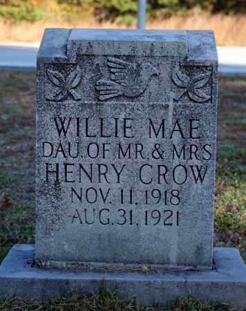 CROW, WILLIE MAE - Searcy County, Arkansas   WILLIE MAE CROW - Arkansas Gravestone Photos