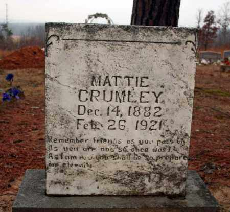 CRUMLEY, MATTIE - Searcy County, Arkansas | MATTIE CRUMLEY - Arkansas Gravestone Photos