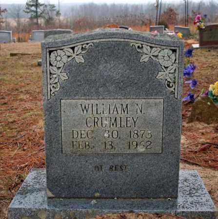 CRUMLEY, WILLIAM N. - Searcy County, Arkansas | WILLIAM N. CRUMLEY - Arkansas Gravestone Photos