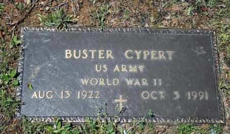 CYPERT (VETERAN WWII), BUSTER - Searcy County, Arkansas   BUSTER CYPERT (VETERAN WWII) - Arkansas Gravestone Photos
