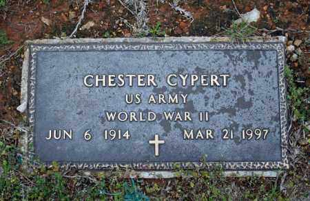 CYPERT (VETERAN WWII), CHESTER - Searcy County, Arkansas | CHESTER CYPERT (VETERAN WWII) - Arkansas Gravestone Photos