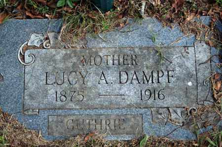 GUTHRIE DAMPF, LUCY A. - Searcy County, Arkansas | LUCY A. GUTHRIE DAMPF - Arkansas Gravestone Photos