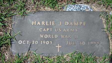 DAMPF (VETERAN WWII), HARLIE J - Searcy County, Arkansas   HARLIE J DAMPF (VETERAN WWII) - Arkansas Gravestone Photos