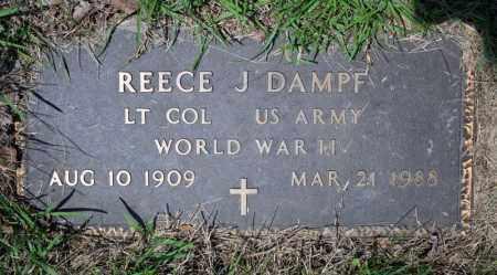 DAMPF (VETERAN WWII), REECE J - Searcy County, Arkansas | REECE J DAMPF (VETERAN WWII) - Arkansas Gravestone Photos
