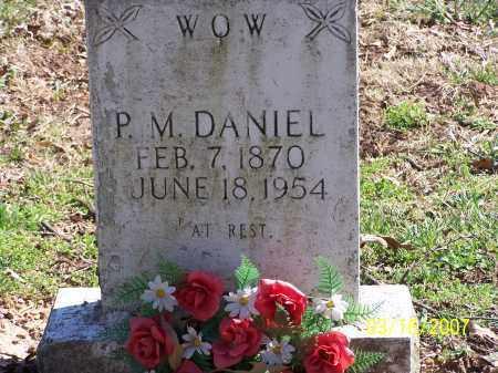DANIEL, PINKNEY MONROE - Searcy County, Arkansas | PINKNEY MONROE DANIEL - Arkansas Gravestone Photos