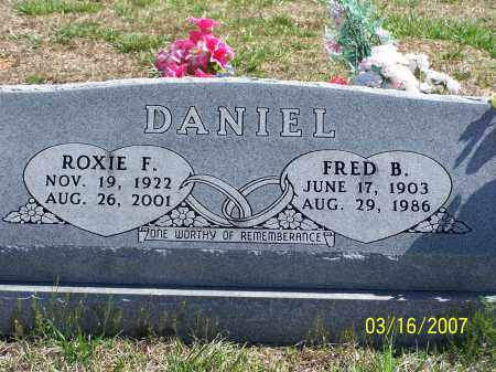 DANIEL, FRED B - Searcy County, Arkansas | FRED B DANIEL - Arkansas Gravestone Photos