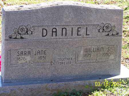 DANIEL, WILLIAM - Searcy County, Arkansas   WILLIAM DANIEL - Arkansas Gravestone Photos