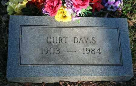 DAVIS, CURT - Searcy County, Arkansas   CURT DAVIS - Arkansas Gravestone Photos