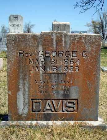DAVIS, GEORGE G. - Searcy County, Arkansas | GEORGE G. DAVIS - Arkansas Gravestone Photos
