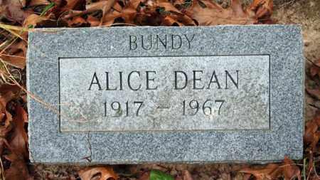DEAN, ALICE - Searcy County, Arkansas | ALICE DEAN - Arkansas Gravestone Photos