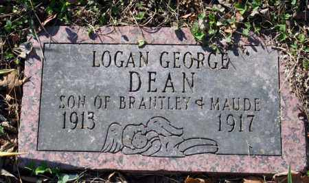 DEAN, LOGAN GEORGE - Searcy County, Arkansas | LOGAN GEORGE DEAN - Arkansas Gravestone Photos