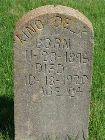 DELK, KING - Searcy County, Arkansas | KING DELK - Arkansas Gravestone Photos