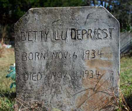 DEPRIEST, BETTY LU - Searcy County, Arkansas | BETTY LU DEPRIEST - Arkansas Gravestone Photos