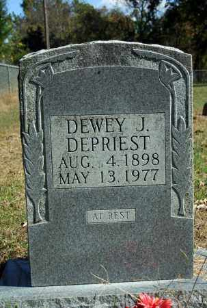 DEPRIEST, DEWEY J. - Searcy County, Arkansas | DEWEY J. DEPRIEST - Arkansas Gravestone Photos